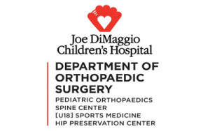 League Sponsor - Joe DiMaggio Childrens Hospital